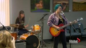 Women channel inner rockers at band camp in Saskatoon