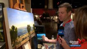 Artist wins best in show 25 years after father at Calgary Stampede (02:20)
