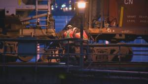 Freight train derails in New Westminster