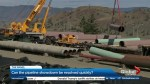 Can the pipeline showdown be resolved quickly?