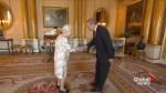 Queen Elizabeth II meets Turkey's President Erdogan at Buckingham Palace