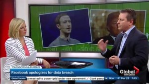 How did Facebook respond to the data breach?