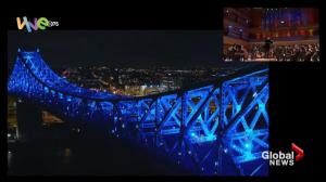Jacques Cartier Bridge to light up in repeat ceremony