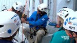 About 30 people rappel down Lethbridge building to support Make-A-Wish Southern Alberta