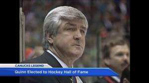 Pat Quinn elected into Hockey Hall of Fame