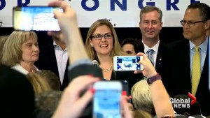 Midterm Elections: Democrat Wexton defeats Comstock in Republican stronghold in Virginia