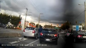 Another case of road rage is caught on camera in the Lower Mainland