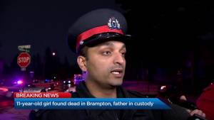 'My heart aches' Const. Mooken on 11-year-old found dead in Brampton home