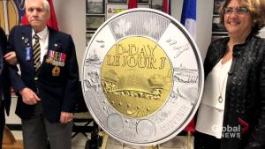 New Brunswick veteran receives first $2 coin commemorating 75th anniversary of D-Day