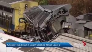 Deadly Amtrak train crash in South Carolina