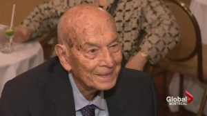 Manny Batshaw celebrates 100th birthday