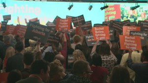 Notley speaks at NDP convention