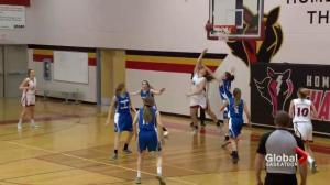 High School Huddle: basketball action