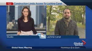 Closures coming to Lachine Canal