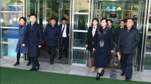 North Korean inspection team for Olympic Games arrives in South Korea