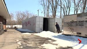 Battle brewing over storage containers in Beaconsfield