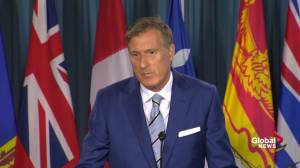 Bernier says he stands better chance of defeating Trudeau than Scheer