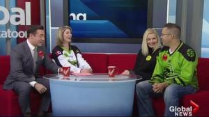 Stoplight party part of Friday's activities at Saskatchewan Rush game