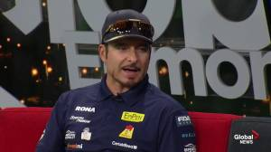 NASCAR Pinty's Series driver Alex Tagliani speeds into Edmonton