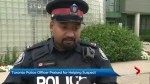 Toronto police officer praised for helping suspect