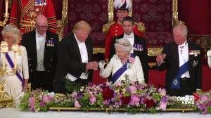 Trump says UK showed world 'what it means to be British' in Second World War