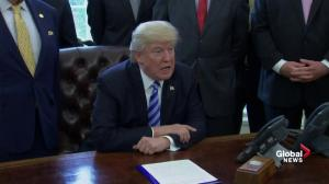 President Trump, TransCanada President announce approval of Keystone XL pipeline