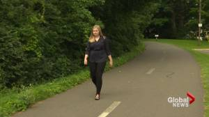 Fredericton woman calls on city to install lighting on walking trail after scary encounter