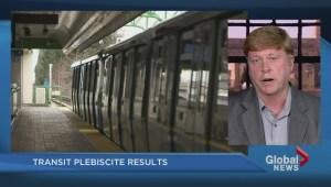 Transit plebiscite results expected Thursday