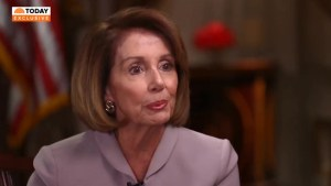 Donald Trump could be indicted over Russia investigation: Pelosi