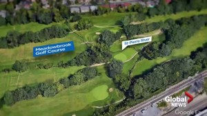 Battle brewing over small creek at Montreal golf course