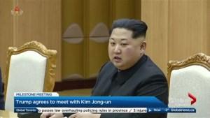 What happens when Trump meets with Kim Jong-un?
