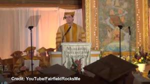 Jim Carrey delivers funny and inspirational commencement speech