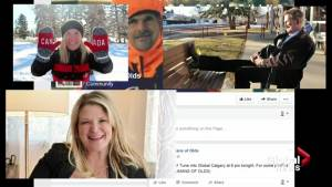 'They tell me I'm a celebrity in Olds here': Olds resident creates 'Humans of Olds' Facebook page (01:54)