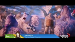 "Are you going to take your kids to see 'Smallfoot"" this weekend?"