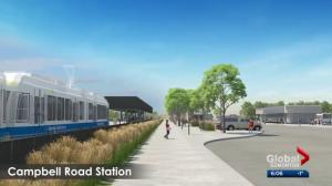 Northwest Edmonton LRT extension to be debated at city hall