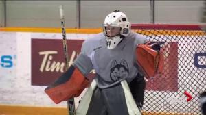 3 battle for Saskatchewan Huskies women's hockey goaltender job