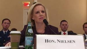 Homeland Security Secretary out of Trump administration