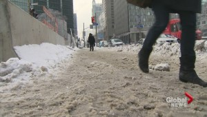 Montreal snow clearing a blizzard of controversy