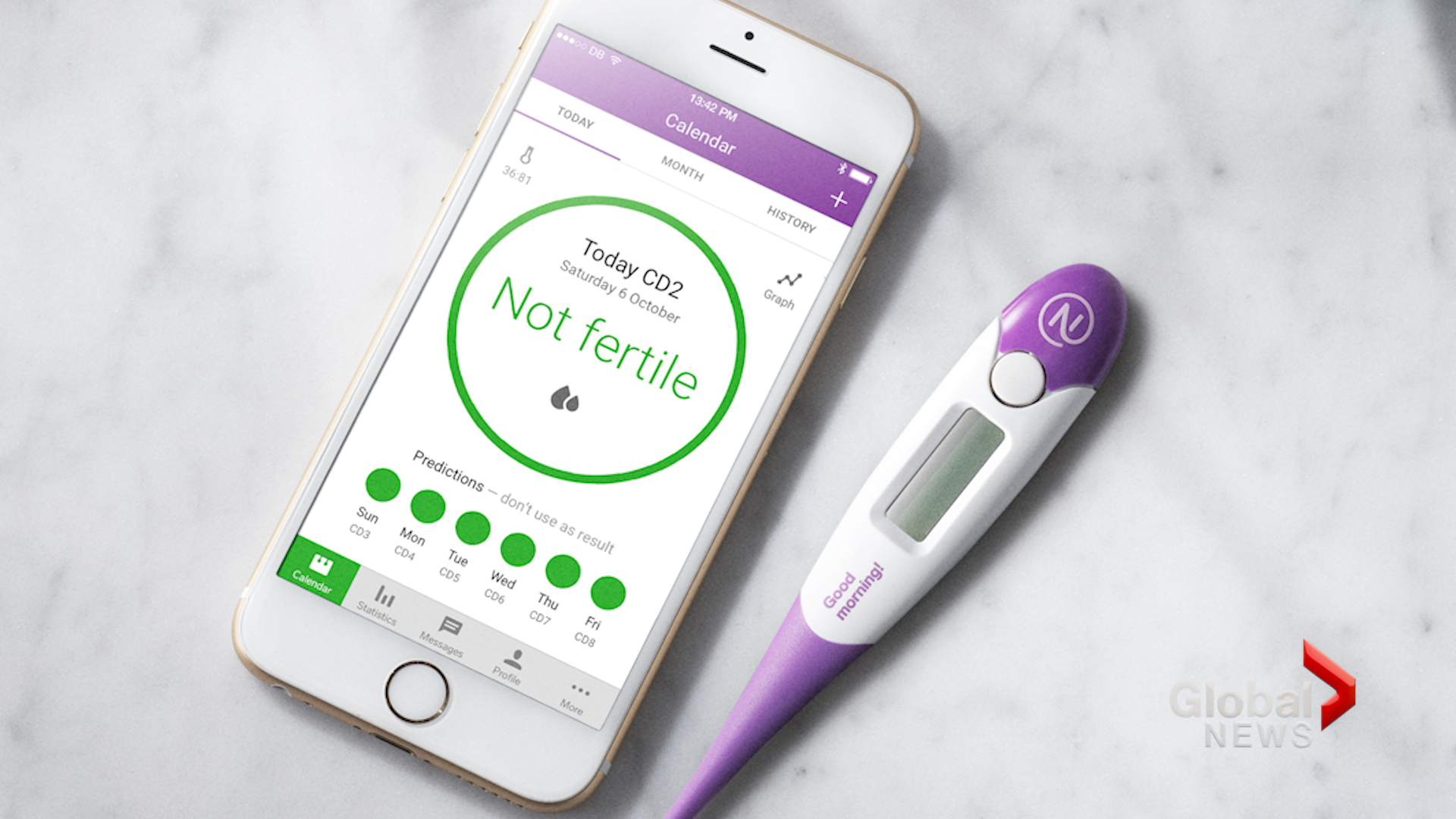 Contraceptive app blamed for accidental pregnancies