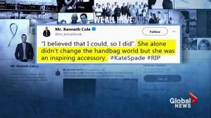 Condolences pour in for designer Kate Spade