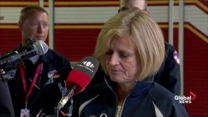 'The city was surrounded by an ocean of fire': Alberta premier on Fort McMurray wildfire