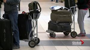Man allegedly makes bomb threat at Saskatoon airport over late flight