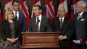 "Patrick Brown calls for health impact study on ""Chemical Valley"" spills"