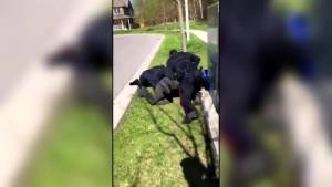 Officers seen in video punching prone teen followed protocol: Durham police