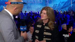 Alberta Election 2019: Former Federal Conservative Leader Rona Ambrose (02:28)