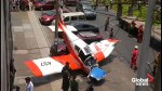 2 injured after plane crashes onto street in Lima, Peru