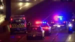 Woman walking on Hwy. 401 fatally struck by transport truck