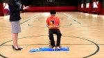 Chinese teenager breaks Rubik's Cube world record by solving with hands and feet
