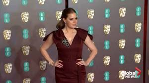 Stars make red carpet arrivals at BAFTA Awards in London