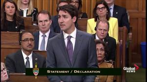 Justin Trudeau calls gay purge a 'witch hunt'